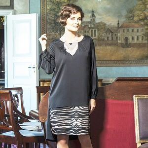 PARTY DRESS SILKY STRETCH MADE IN EUROPE